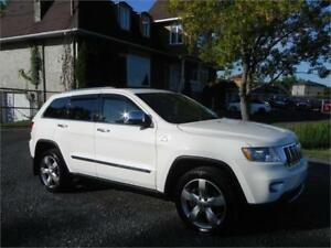 2012 Jeep Grand Cherokee Overland,Toit panormaique, Bluetooth