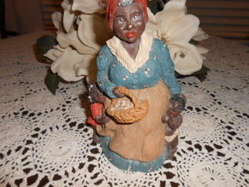 June Mckenna black americana folk Mother with Children