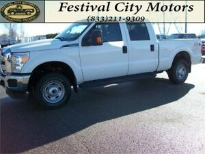 2015 Ford Super Duty F-250 SRW XLT Crew Cab 4x4 CERTIFIED