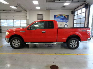 2013 Ford F-150 XLT Super Cab 4X4