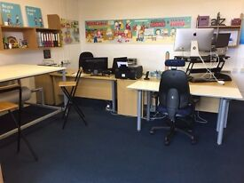 Rent a Desk or Office Space close to town for just £35 per week