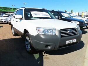 2006 Subaru Forester 79V MY06 X AWD White 4 Speed Automatic Wagon Mount Druitt Blacktown Area Preview