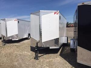 6ft x 12ft Flat Top Enclosed Trailer (RWT6x12SA)