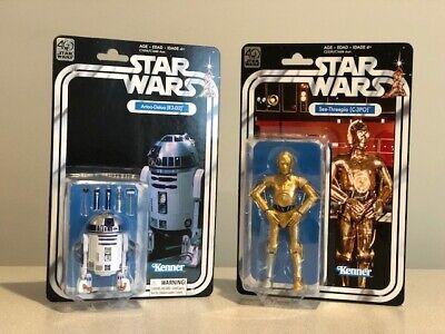 Hasbro Star Wars The Black Series 40th Anniversary R2D2 and C3PO