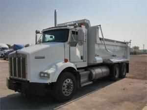 Kenworth T800 New Neustar 16' Dump Box