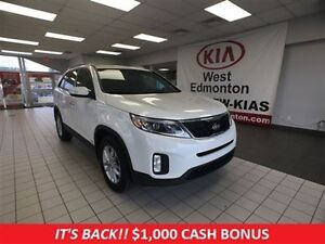 2014 Kia Sorento LX AWD,  1 Year Free Powertrain Warranty!!