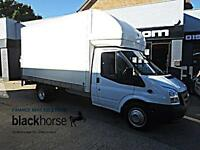 2012 Ford Transit T350 2.2TDCi 125ps 13,5' Luton Tail Lift E/W Diesel white Manu
