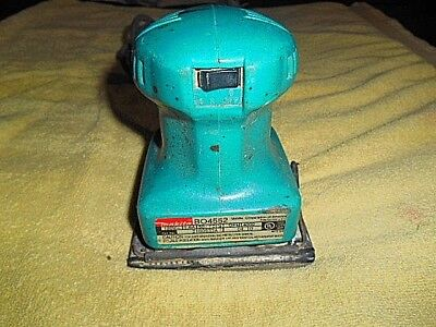 Retro Makita Bo4552 Corded 4 X 4-12 Electric Pad Sander