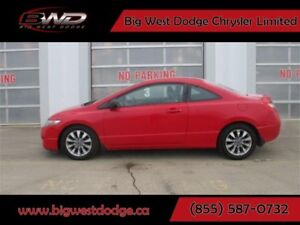 2009 Honda Civic EX-L| COUPE| SUNROOF| LEATHER| 5 SPEED