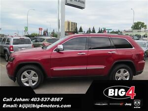 2011 Jeep Grand Cherokee Limited, Rear DVD, Sunroof, PRICE DROP!