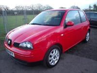 SEAT AROSA S, Red, Manual, Petrol, 2004