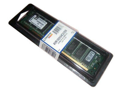 Kingston Memoria RAM 256MB SDRAM PC100 MHz - KVR100X64C2-256
