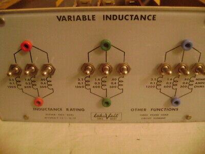 Labvolt Ems 8321 Variable Inductance Electronicelectrical Mechanical Training