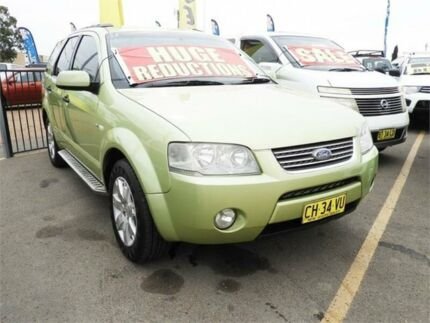 2005 Ford Territory SX Ghia Green Sports Automatic Wagon Minchinbury Blacktown Area Preview