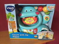 VTech Count and Collect Hippo (Brand New)