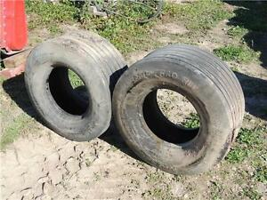 Set of 2 – 31x13.50-15 Titan Tires.  Fit NH Balers & Mower Cond