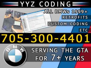 BMW Coding/Programming/Maps 1/2/3/4/5/6/7/X/Z Series. 7 yrs EXP!