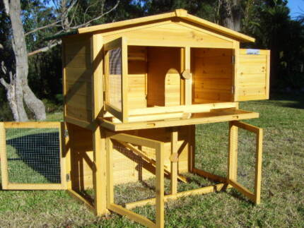 Rabbit Guinea Pig Coop Hutch Double Somerzby Villa Somersby Gosford Area Preview