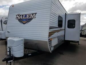 Used 2010 Forest River RV Salem 30QBHSS