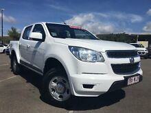 2014 Holden Colorado RG MY15 LS Crew Cab White 6 Speed Sports Automatic Utility Garbutt Townsville City Preview