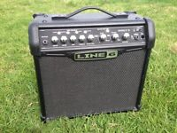Line6 Spider IV 15w Guitar Amplifier, EC