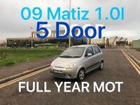 £795 2009 Chevrolet Matiz 1.0l* like punto yaris micra corsa clio aygo c1 107 getz polo