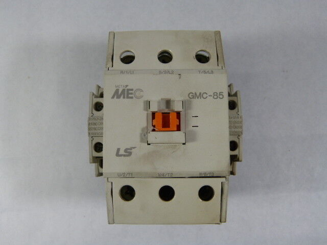 LS Industrial Systems GMC(D)-85-AC120 GMC85 Contactor 3P 85A 120VAC Coil  USED