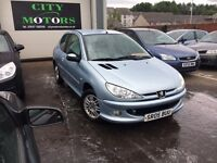 Peugeot 206 1.4, Low Miles, New MOT, Serviced, Warranty, Great Condition