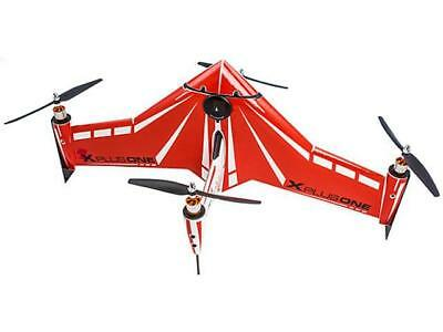 Xcraft Skinned RED X PlusOne Platinum Quadcopter with FPV AT2-XP1-003-ST - Red