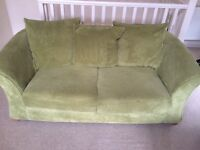 Three seater sofa bed in excellent condition