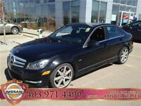 2012 Mercedes-Benz C-Class C350 4Matic, Leather, Sunroof