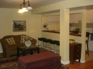 ALL INCLUDED,FULLY FURNISHED 2 BR NEAR METRO, HEC, JGH,DOWNTOWN