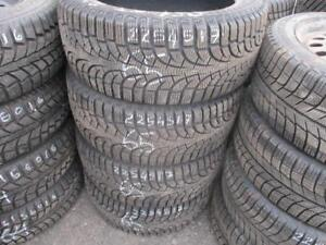 225/45 R17 PIRELLI WINTER CARVING EDGE TIRES ($320 FOR SET OF 4) - 85% TREAD