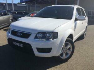2010 Ford Territory SY MkII TX (RWD) White 4 Speed Auto Seq Sportshift Wagon