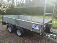Ivor Williams 10x5.6 flat trailer