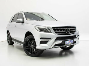 2012 Mercedes-Benz ML350 CDI BlueTEC 166 4x4 Silver 7 Speed Automatic Wagon Jandakot Cockburn Area Preview