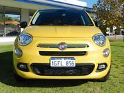 2016 Fiat 500X 334 Pop Star DDCT Yellow 6 Speed Sports Automatic Dual Clutch Wagon Victoria Park Victoria Park Area Preview