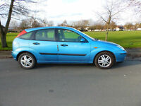2002 52'reg Ford Focus 1.6i 16v Zetec 5 door**Air Con/ Alloys/ Parking Sensors**