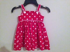 Red dress size 9 months