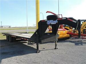 2013 Diamond C FLT212 Gooseneck Trailer - 34'