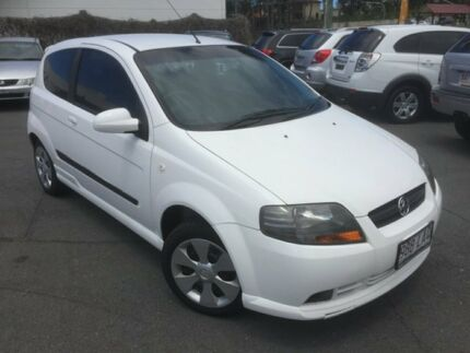 2008 Holden Barina TK MY08 White 5 Speed Manual Hatchback Southport Gold Coast City Preview