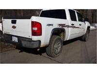2007 SILVERADO 4X4 1500 CREW CAB SHORT BOX *CLEAN* $13,900 OBO