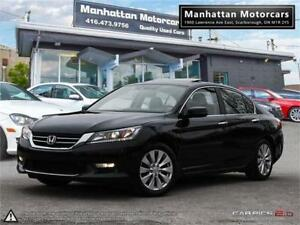 2014 HONDA ACCORD EX-L |ROOF|PHONE|LEATHER|SIDECAMERA|NOACCIDENT