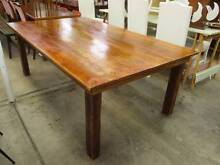 C6084 Vintage Rustic Pine Kitchen Dining Table Unley Unley Area Preview