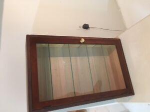 meuble vitré