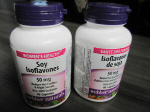 Women's Health Soy Isoflavones, 50 mg, 90 capsules..Sealed