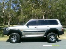 2002 Nissan Patrol GU III MY2002 ST Gold 4 Speed Automatic Wagon Southport Gold Coast City Preview