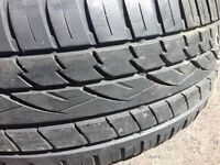 CONTINENTIAL cross contact 255/50 R19 - 2 tires for BMW X5