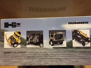 RARE 1:18 SCALE PEWTER TAUPE H2 HUMMER HIGHWAY 61 NEW W BOX Windsor Region Ontario image 5