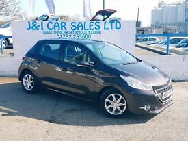 PEUGEOT 208 1.6 ACTIVE E-HDI 5d 92 BHP A LOW PRICE DIESEL (red) 2012